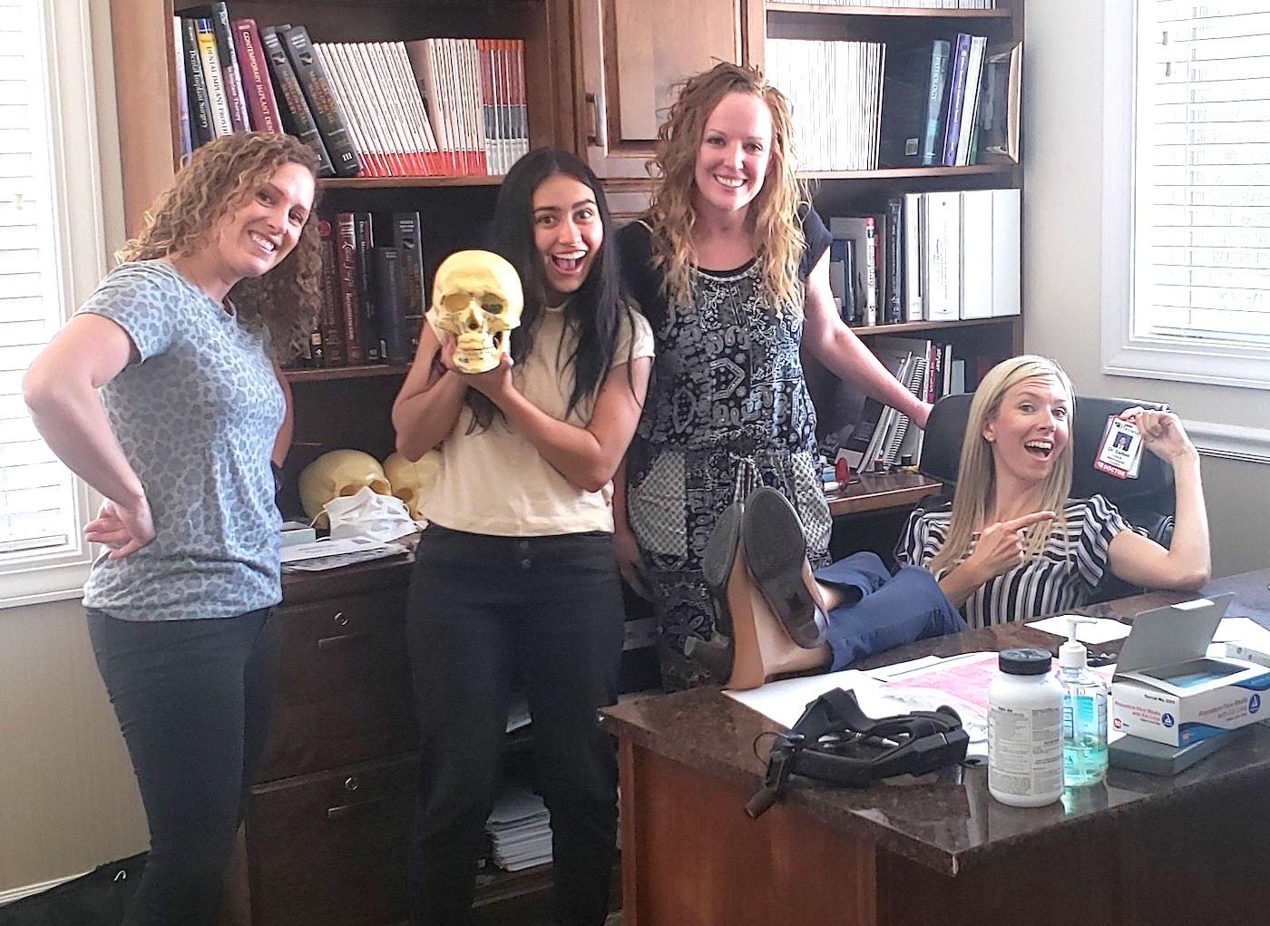 Brandi Hooker Evans coaching dental hygiene teams